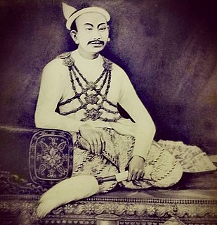 Mindon Min King of Burma
