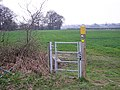 Kissing gate without a fence to protect. - geograph.org.uk - 1802441.jpg