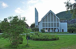 Kjøpsvik - Image: Kjøpsvik kirke