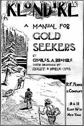 Cover of a gold seekers manual, published 1897