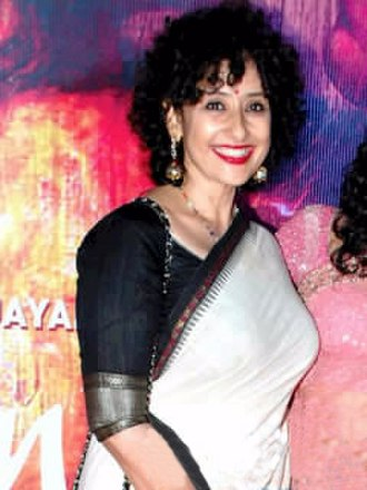 Manisha Koirala - Koirala at premiere of Rang Rasiya in 2014