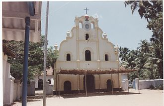 Infant Jesus Cathedral - 400-year-old Infant Jesus Cathedral at Quilon-Tangasseri. In 2006 it was demolished and replaced by a new building