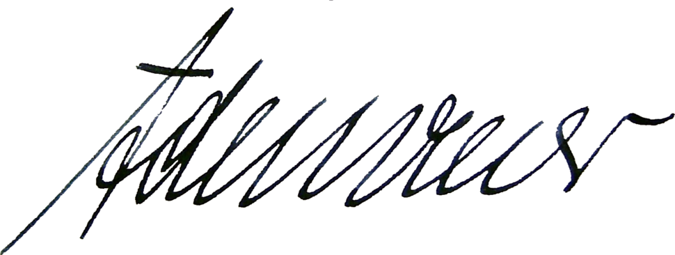 Konrad Adenauer's signature