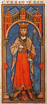 Konrad III Miniatur 13 Jahrhundert.jpg