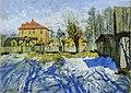 Konstantin Gorbatov - Early Spring. Blue Shadows.jpg