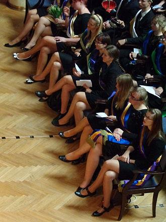 Commercium - Image: Korporierte Studentinnen in Riga