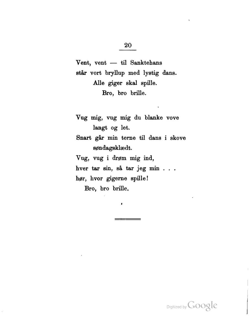 digte bryllup kærlighed