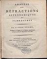 Kramp, Christian – Analyse des réfractions astronomiques et terrestres, 1799 – BEIC 745581.jpg