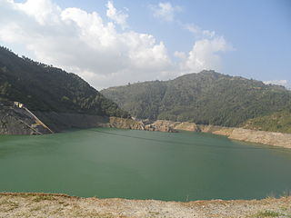 dam in Kulekhani, Makwanpur District, Narayani Zone