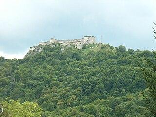 Ostrovica Castle Medieval castle in Ostrovica, Bosnia