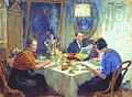 Kulikov Family at the table 1938.jpg