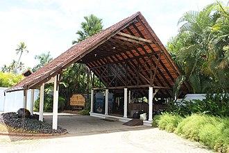 Kumarakom - Entrance to resort