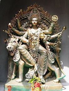 8 Indische Arme Göttin