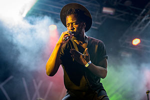 Kwabs - On stage in 2015