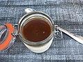 L'Auberge du Lavoir (Sainte-Julie) - panna cotta au caramel au beurre salé.JPG