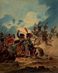 L'artillerie à cheval de la Garde impériale à Waterloo, 1815.jpg