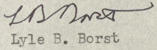 Lyle Benjamin Borst