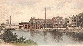 Athol, Massachusetts - Image: L. S. Starrett Mfg. Plant, Athol, MA