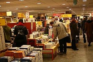 Swedish book sale (bokrea), February 2009. Aka...