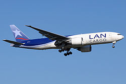 Aerocardal wikivisually latam cargo chile latam cargo chile boeing 777f still in lan cargo livery fandeluxe Image collections
