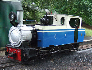 Klien-Lindner axle - O&K Locomotive No. 740 seen here on shed at Pages Park station of the Leighton Buzzard Narrow Gauge Railway
