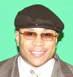 LL Cool J, an American rapper.