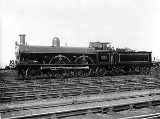 John Hick (politician) - LNWR engine no. 20 John Hick, built at Crewe Works.