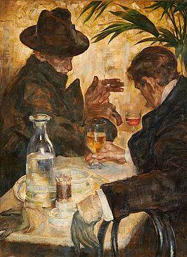 La Conversation (Arthur Navez).jpg