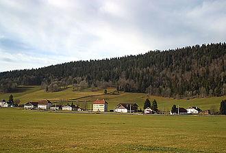 La Sagne - La Sagne village