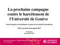La prochaine campagne contre le harcèlement de l'Université de Genève.pdf