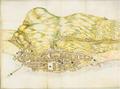La trama urbana de Gibraltar en 1627, por Luis Bravo de Acuña.png