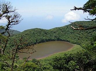 Maderas - Laguna de Maderas, the crater lake.