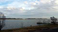 Lake Chicot from Lakeshore Dr in Lake Village, AR.jpg