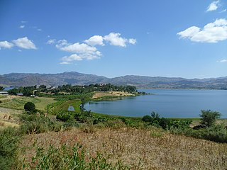 lake in north-central Ethiopia