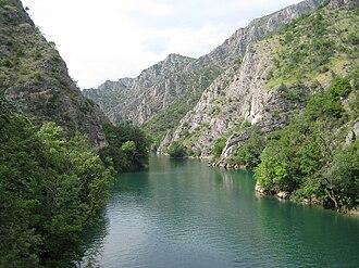 Matka Canyon - Matka Canyon