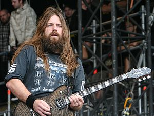 Lamb of God discography - Mark Morton performs with Lamb of God at the With Full Force festival, in 2007