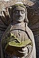 Lampaul-Guimiliau - Enclos paroissial - Extérieur - Statue - PA00090020 - 003.jpg