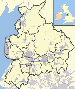 Lancashire outline map with UK.png