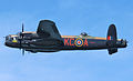Lancaster bomber over Cowes in May 2013 3.jpg