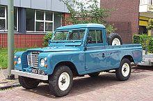 Un Land Rover 109 Pick-Up della Serie III