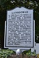 Lansdowne historical marker.jpg