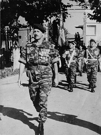 13th Parachute Dragoon Regiment - Image: Larrieu Jean 13RDP Castres 02