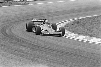 Niki Lauda - Lauda in the Brabham-Alfa Romeo at Zandvoort (1978)