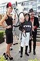 Laura Dunovic, Dollar, Jockey, Richard Nylon (6837629500).jpg