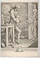 """Laurence Sterne, alias Tristram Shandy- """"And When Death Himself Knocked at My Door"""" MET DP835344.jpg"""