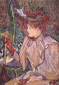 Henri Toulouse-Lautrec (1864-1901)  Nő kesztyűvel (Honorine P. 27e3219a0a