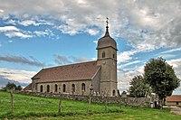 Le Bélieu, l'église Saint François d'Assise.jpg