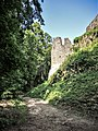 Le château d'Andlau, vu du fossé sud.jpg