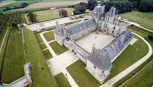 Château de Kerjean - Aerial view