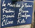 Le mur des je t'aime Paris Montmartre Die Künstler.jpg